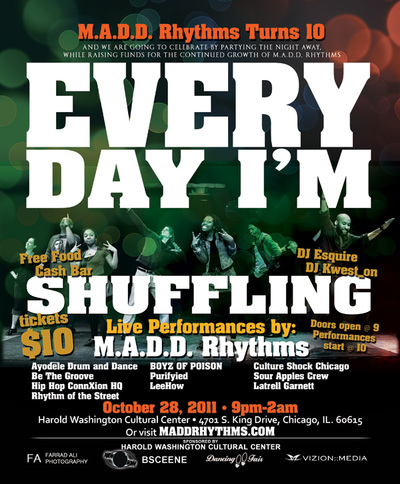 M.A.D.D. Rhythms 10th Anniversary Celebration