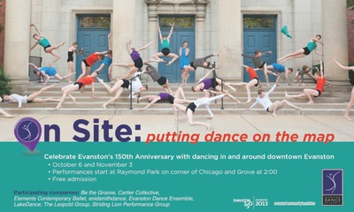 On Site presented by the Evanston Dance Ensemble