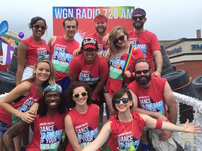 Chicago Pride Parade with WGN Radio