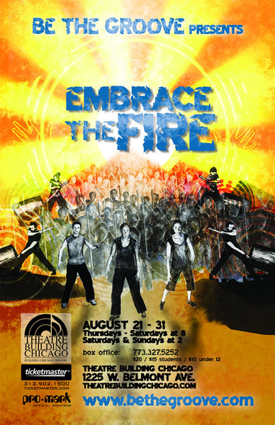 Be the Groove presents: Embrace the Fire